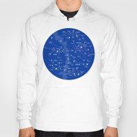 constellations Hoodies featuring Superheroes Constellations by tuditees