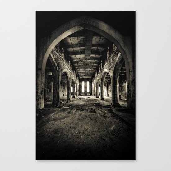 Abandoned Church Abercarn Canvas Print