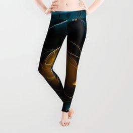Sempiternity. Fractal Art Leggings