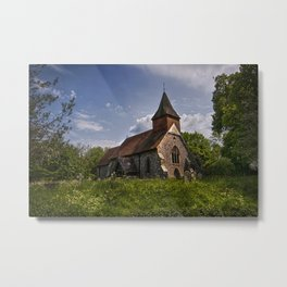 Selmeston Church Metal Print