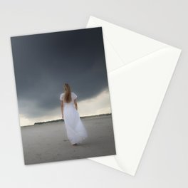 Waiting for the storm Stationery Cards