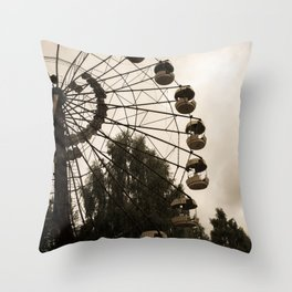 Into the Sky Throw Pillow