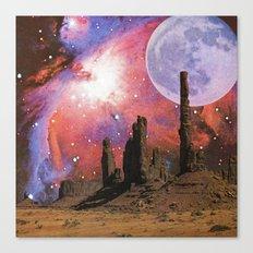 Nebula Desert Collage I Canvas Print
