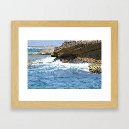 ocean spay Framed Art Print