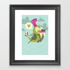 I'm the walrus Framed Art Print