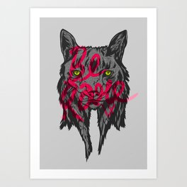 BE RARE TRASH VERSION Art Print