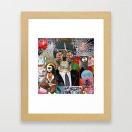 Summer Music Framed Art Print