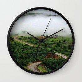 Oman Salalah 4 Wall Clock