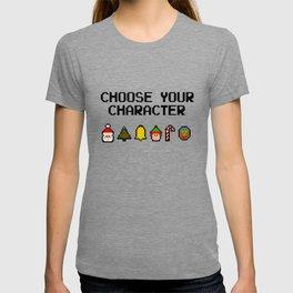 8 Bit Christmas T-shirt