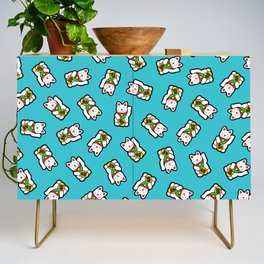 Lucky Cat Pattern Credenza