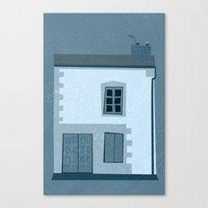 La maison et l'oiseau Canvas Print