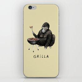 Grilla iPhone Skin