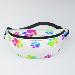 Doggy Paw Prints Fanny Pack