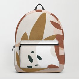 Abstract Plant Life II Backpack