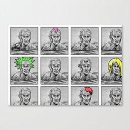 Punk Pages 2011 Canvas Print