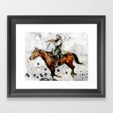 Western Outlaw Cullen Bohannon Framed Art Print