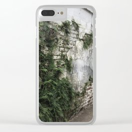 Nature takes over Clear iPhone Case