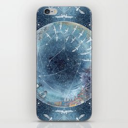 Capricorn & Aquarius friendship iPhone Skin