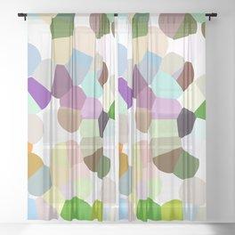 Happy  Spring ! - JUSTART (c) Sheer Curtain