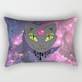Hex Cat Rectangular Pillow