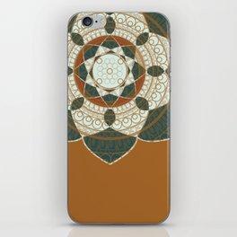 Hena Flower iPhone Skin
