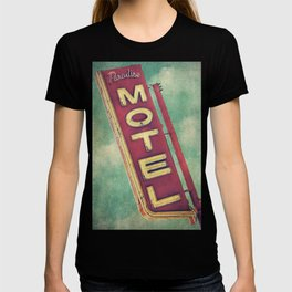 Paradise Motel Sign T-shirt