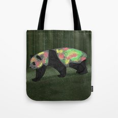 Panda Night Tote Bag