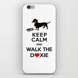 Walk the Doxie iPhone Skin