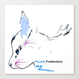 Feline Furensics Take Two Canvas Print