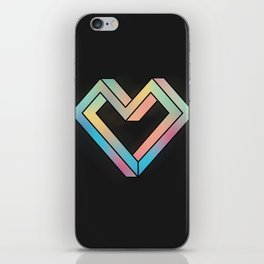 le coeur impossible (nº 4) iPhone Skin