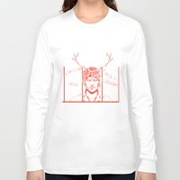 will graham Long Sleeve T-shirts featuring Save Will Graham by Meloniade