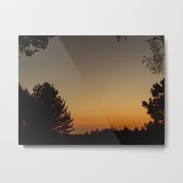 Forest Sunset #4 Metal Print