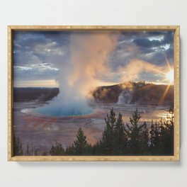 Grand Prismatic Spring, Yellowstone Serving Tray
