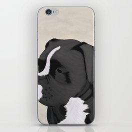 Black Boxer iPhone Skin