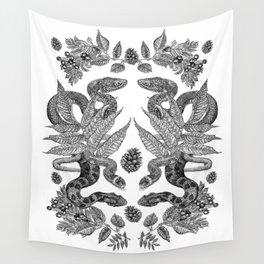 Serpent's Choir Wall Tapestry