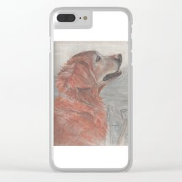 Sea Dog Clear iPhone Case
