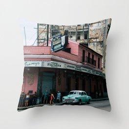 La Floridita Throw Pillow