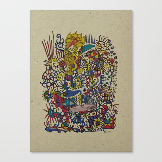 - romantic summer - Canvas Print
