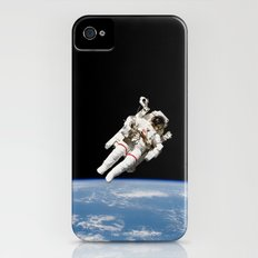 Astronaut Floating Free iPhone (4, 4s) Slim Case