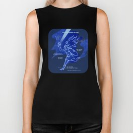 Warrior Girl 5 Biker Tank