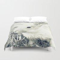 rabbit Duvet Covers featuring Rabbit by Falko Follert Art-FF77