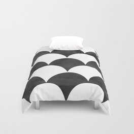 BUMPY - BLACK Duvet Cover