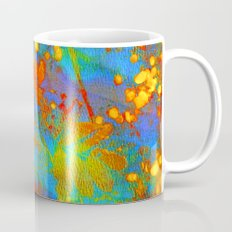 bright abstract leaves Coffee Mug