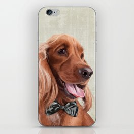 Mr. English Cocker Spaniel iPhone Skin