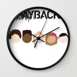 Community Blowback Wall Clock