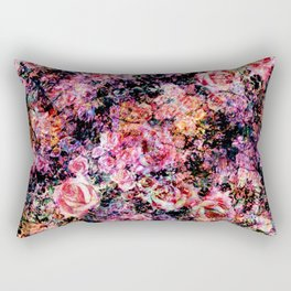 Polychromatic Roses Rectangular Pillow