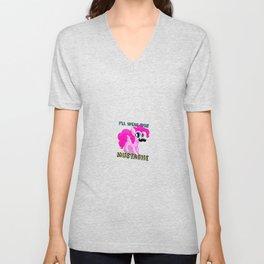 Pony Cute Horse Unisex V-Neck