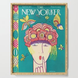 Vintage New Yorker Cover - Circa 1927 Serving Tray