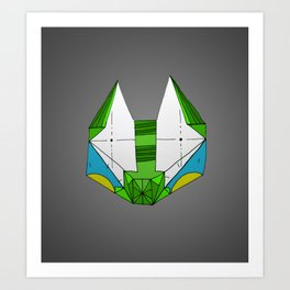 Space cat Joe Art Print
