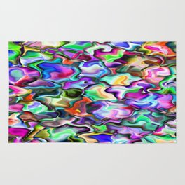 unusual abstract art design background Rug